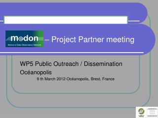 MeDON  – Project Partner meeting