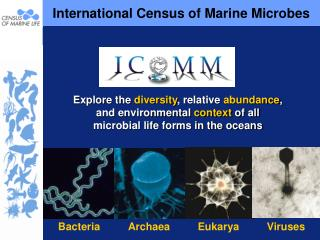 International Census of Marine Microbes