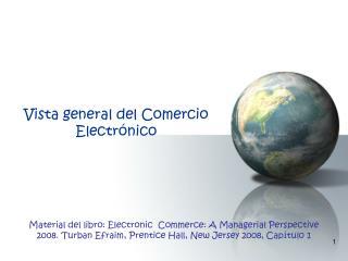 Vista general del Comercio Electrónico