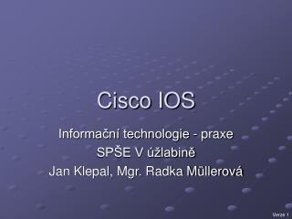 Cisco IOS