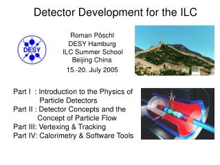 Detector Development for the ILC
