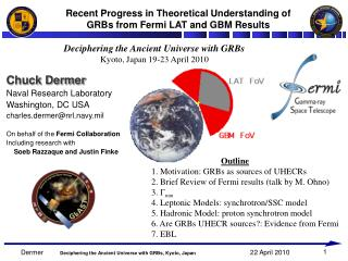 Recent Progress in Theoretical Understanding of GRBs from Fermi LAT and GBM Results