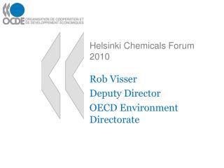 Helsinki Chemicals Forum 2010