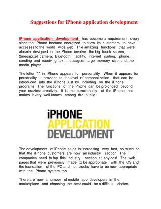 mobile web app development