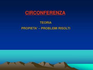 CIRCONFERENZA