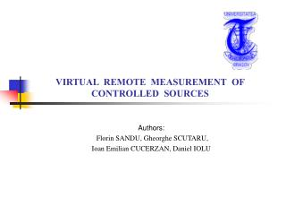VIRTUAL  REMOTE  MEASUREMENT  OF CONTROLLED  SOURCES