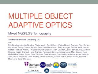 MULTIPLE OBJECT ADAPTIVE OPTICS