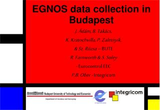 EGNOS data collection in Budapest