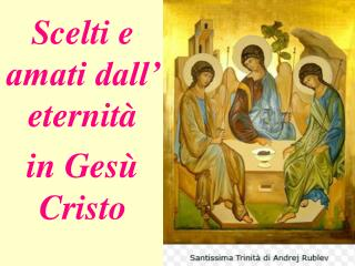 in Ges� Cristo