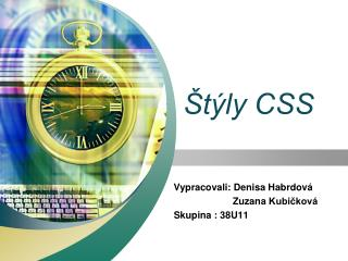 Štýly CSS