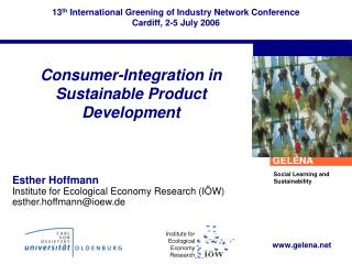 Consumer-Integration in Sustainable Product Development