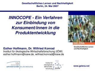 INNOCOPE - Ein Verfahren zur Einbindung von Konsument/innen in die Produktentwicklung