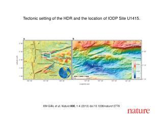 KM Gillis  et al. Nature  000 , 1-4 (2013) doi:10.1038/nature12778