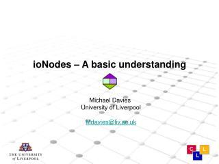 ioNodes – A basic understanding
