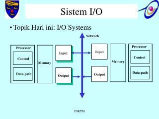 Sistem I/O