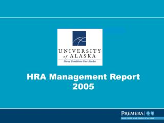 HRA Management Report 2005