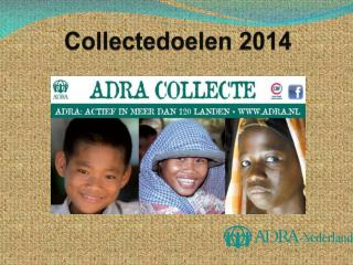 Collectedoelen 2014