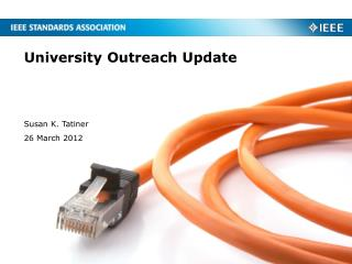 University Outreach Update