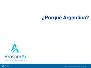 Porqu  Argentina