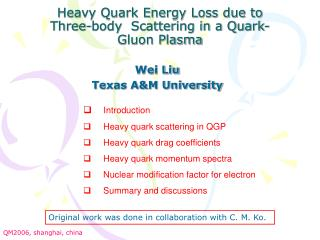 Heavy Quark Energy Loss due to Three-body� Scattering in a Quark-Gluon Plasma