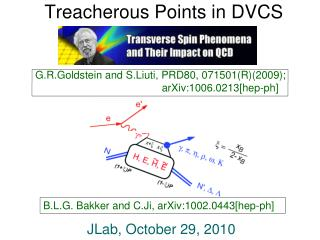 Treacherous Points in DVCS