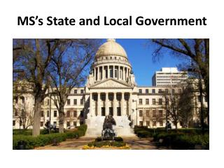 MS�s State and Local Government