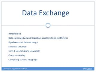 Data Exchange