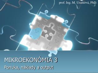 MIKROEKONÓMIA 3