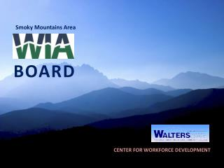 Smoky Mountains Area BOARD