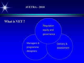 What is VET ?