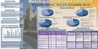 Marketing an Established Institutional Repository