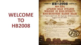 Welcome to  HB2008