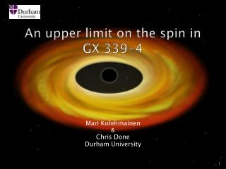 An upper limit on the spin in  GX 339-4
