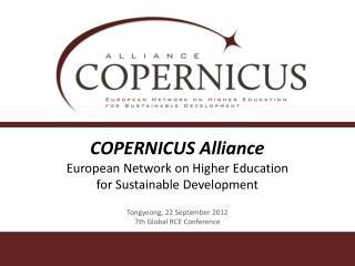 COPERNICUS Alliance European Network on Higher Education  for Sustainable Development