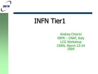 INFN Tier1