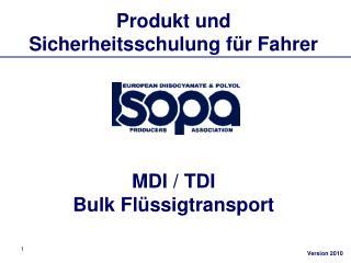 Produkt und Sicherheitsschulung f r Fahrer