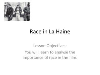 Race in La Haine