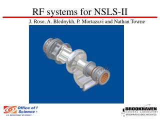 RF systems for NSLS-II