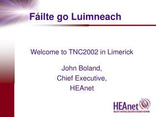 Fáilte go Luimneach