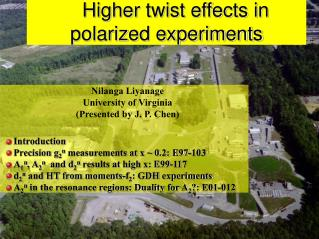 Higher twist effects in polarized experiments