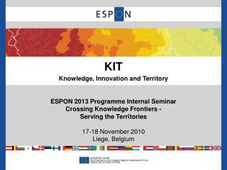 KIT Knowledge, Innovation and Territory