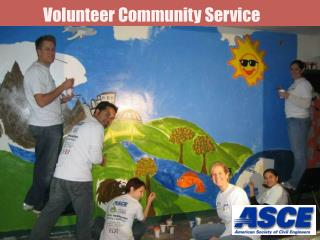 Volunteer Community Service