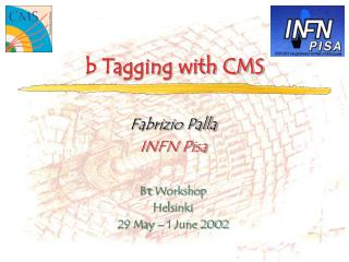 b  Tagging with CMS