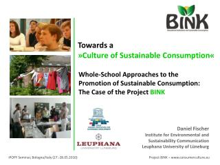 Whole-School Approaches to the Promotion of Sustainable Consumption: The Case of the Project  BINK