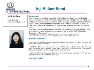 Inji M. Amr Borai