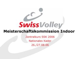 Meisterschaftskommission Indoor