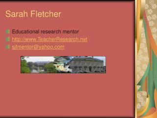 Sarah Fletcher