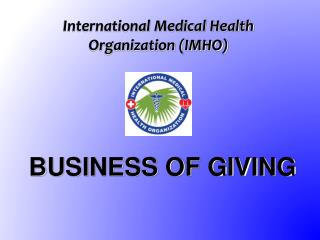 International Medical Health  Organization (IMHO)