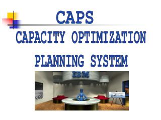 CAPACITY OPTIMIZATION  PLANNING SYSTEM