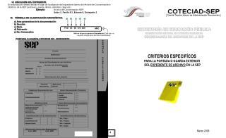 SECRETARÍA DE EDUCACIÓN PÚBLICA COORDINACIÓN GENERAL DE ATENCIÓN CIUDADANA